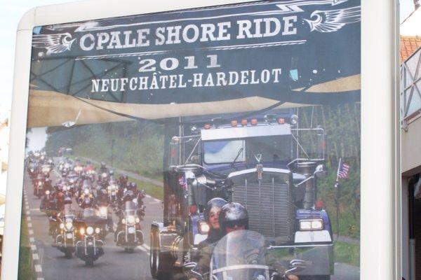 L Opale shore ride  2011 à Hardelot .