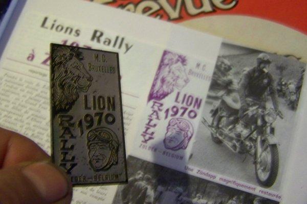 Rallye des lions 70 .