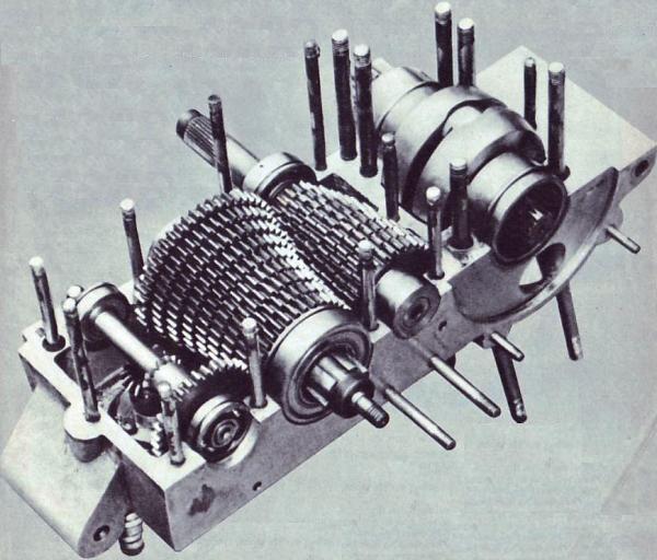 Les Jamathi à refroisissement liquide cylindre vertical .