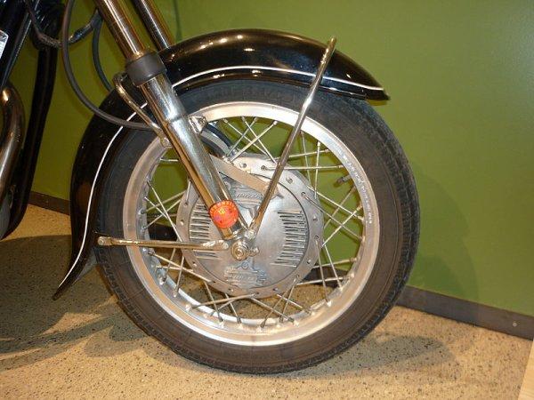 Les freins moto in board .