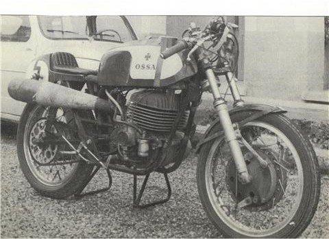 La 250 OSSA   Monocoque .