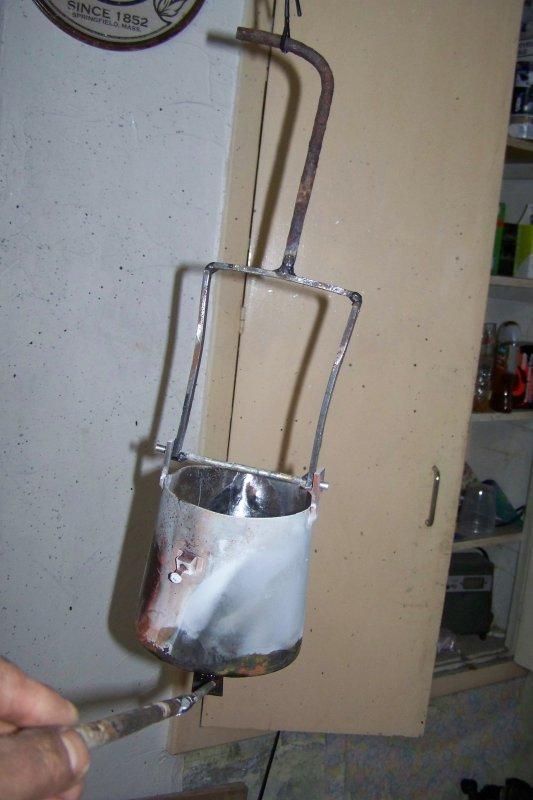 Super fondre l aluminium à la maison . 1ere partie . - motoclassic NB37