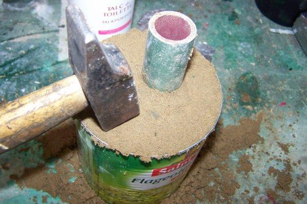 fondre l aluminium à la maison .    1ere  partie .