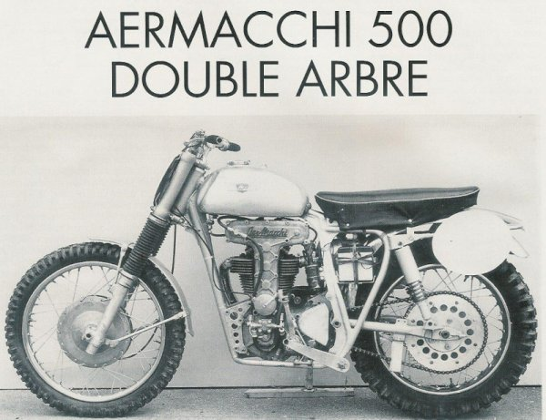 Aermacchi 500 cross   1959 .