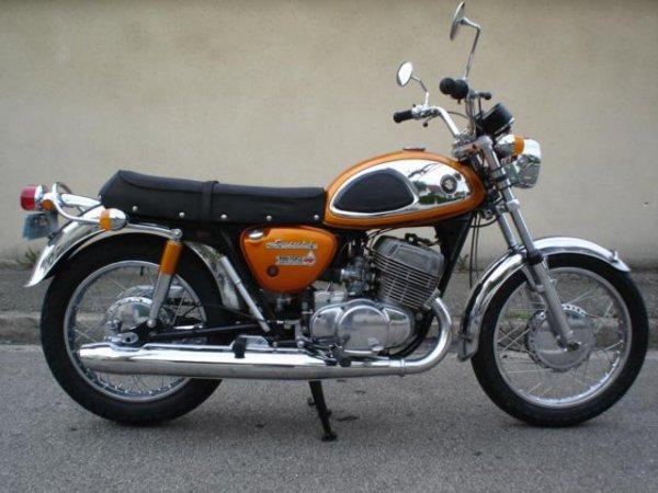 La bécane de la semaine : La T500 Suzuki  ( 1967 )