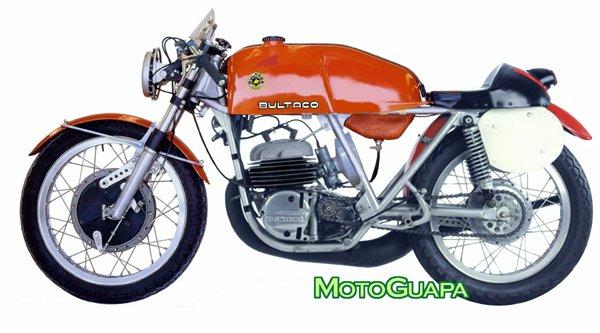 """La bécane de la semaine :  La  360 Bultaco  """" 24 Horas """""""