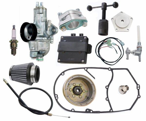 Royal Enfield suite  :   Livraison kit conversion carburateur royal enfield 500 classic EFI 2012