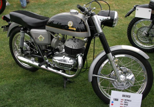 La Bultaco 250 Metralla MK2   (1966 / 1979) .    ( documents Motonut )
