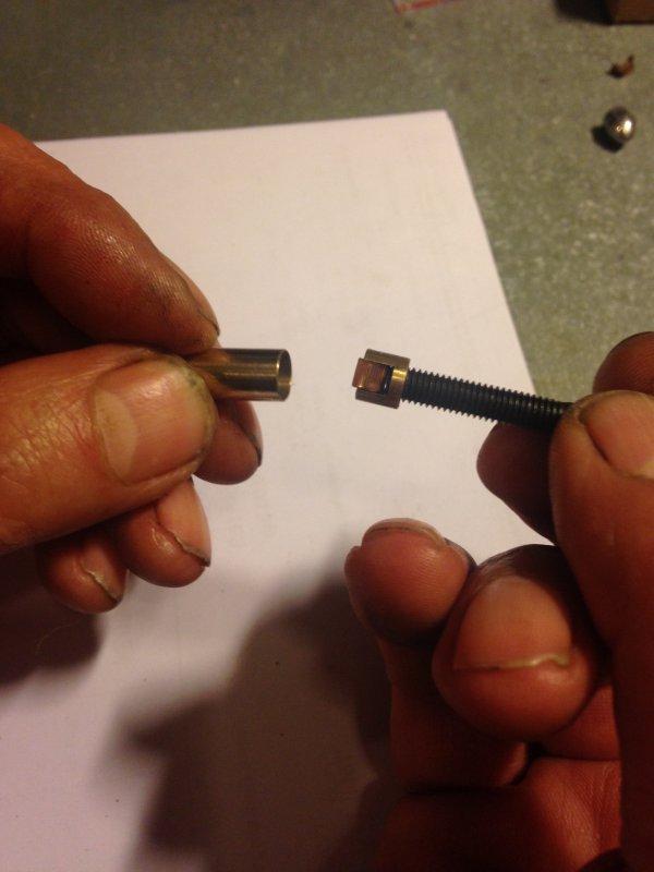 Révolver Lefaucheux 7mm  :  Remontage et le premier essais .
