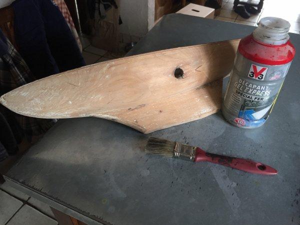 """Restauration d un bateau jouet """" Borda """"  (1)"""