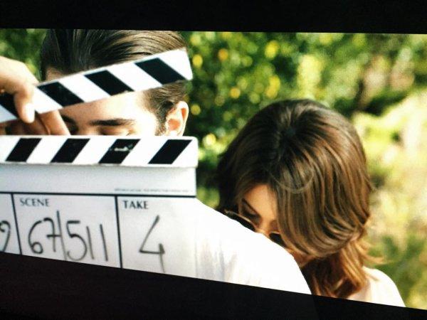Tini en tournage !