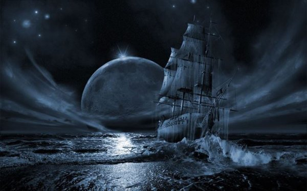 Un navire fantôme