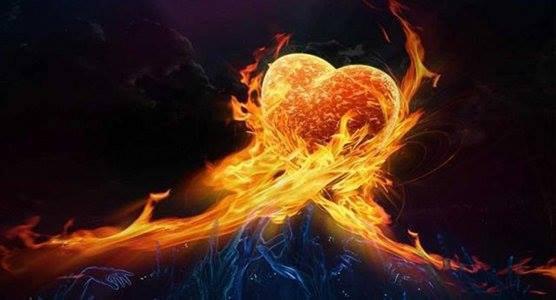 Les flammes d'amour