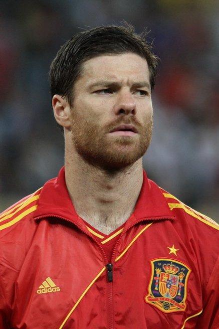 Quelques joueurs de l'Espagne