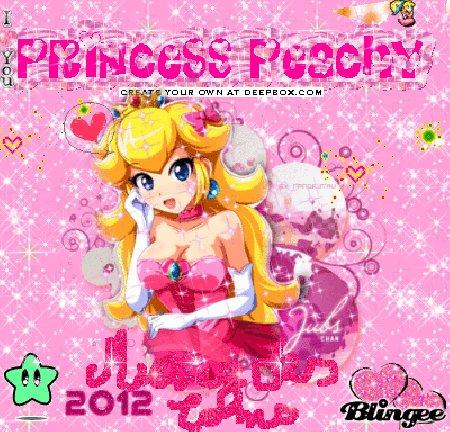 Giff Mario Princesse Peach