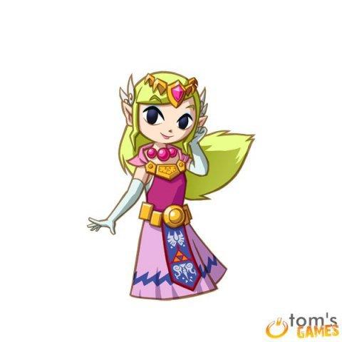 Soluce The Legend of Zelda:Spirit Tracks chapitre 8 La Tour des Esprits (étages 8 à 12) + image Zelda