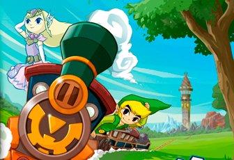 Soluce The Legend of Zelda:Spirit Tracks chapitre 17 La Tour des Esprits (étages 30 à 24) + image Link et Zelda en esprit dans le Train des Esprits