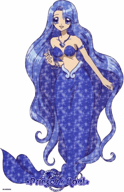 Giff la princesse-sirène à la perle indigo de l'océan Arctique,Noëlle