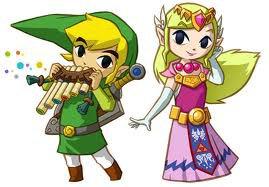 Soluce The Legend of Zelda:Spirit Tracks Les joyaux de force partie 1 Contrée de la forêt + image de Link qui joue de la flûte et Zelda