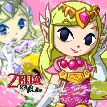 Soluce The Legend of Zelda:Spirit Tracks Les joyaux de force partie 3 Contrée des mers + image la princesse Zelda