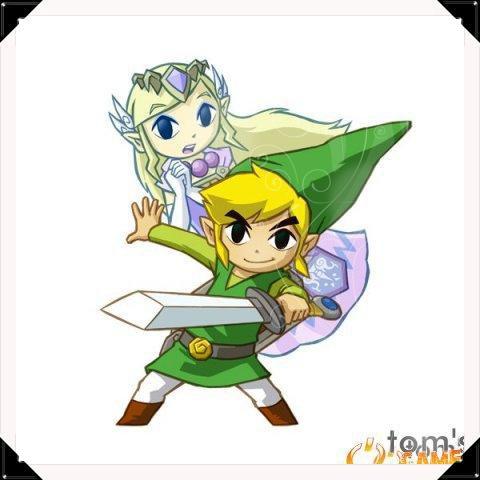 Soluce The Legend of Zelda:Spirit Tracks Les joyaux de force partie 4 Contrée du feu + image retouche Link et Zelda en esprit