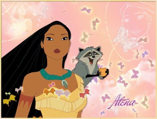 Giff Pocahontas et Meiko