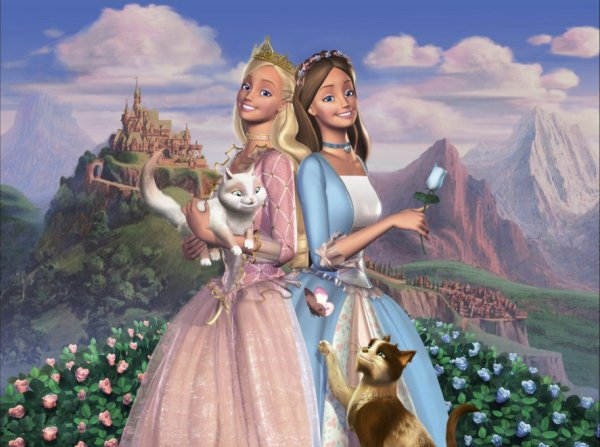 Image Barbie Coeur de princesse Anne-Lise,Erika,Serafina et Wolfy