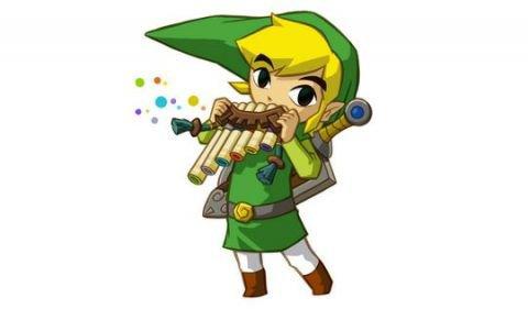 Soluce The Legend of Zelda:Spirit Tracks Les monuments à estampes partie 4 Contrée du feu + image Link qui joue de la flûte