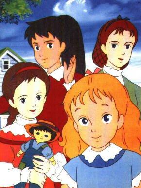 Image Les 4 filles du Docteur March Margaret,Joséphine,Elizabeth et Amy