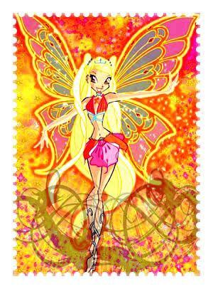 Image retouche Winx Club Stella en Enchantix