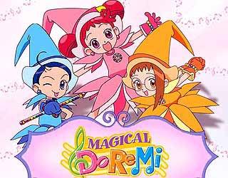 Image Magical Dorémi Dorémi,Emilie et Sophie en apprenties-sorcières saison 1