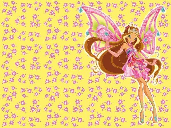 Image Winx Club Flora en Enchantix