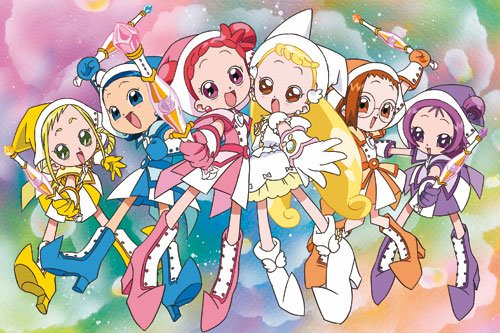 Image Magical Dorémi Dorémi,Emilie,Sophie,Loulou,Mindy et Flora en apprenties-sorcières
