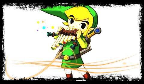 Soluce The Legend of Zelda:Spirit Tracks Les stations secrètes et leurs secrets + image retouche Link qui joue de la flûte