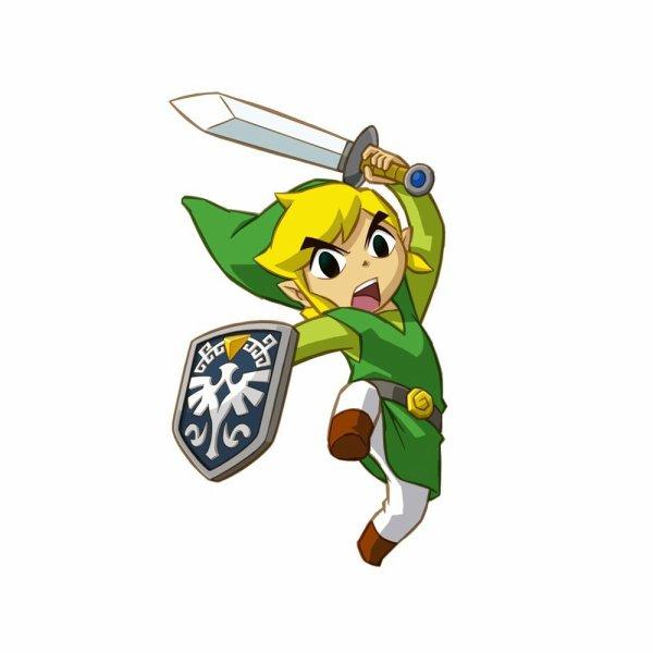 Soluce The Legend of Zelda:Spirit Tracks Les coffres les + difficiles à avoir + image Link qui utilise l'épée