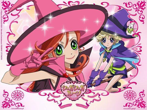 Image Chocola et Vanilla en sorcières et Bianca