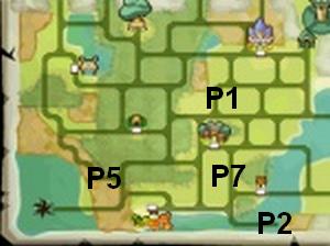 Soluce The Legend of Zelda:Spirit Tracks L'emplacement des portails de téléportation partie 1 Contrée de la forêt