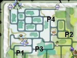Soluce The Legend of Zelda:Spirit Tracks L'emplacement des portails de téléportation partie 2 Contrée des neiges