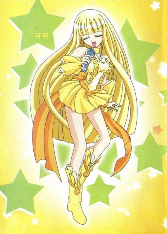 Image la princesse-sirène à la perle jaune de l'océan Pacifique Sud,Coco,en chanteuse