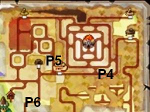 Soluce The Legend of Zelda:Spirit Tracks L'emplacement des portails de téléportation partie 4 Contrée du feu