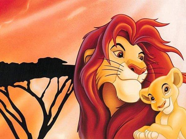Image Le roi lion Mufasa et Simba