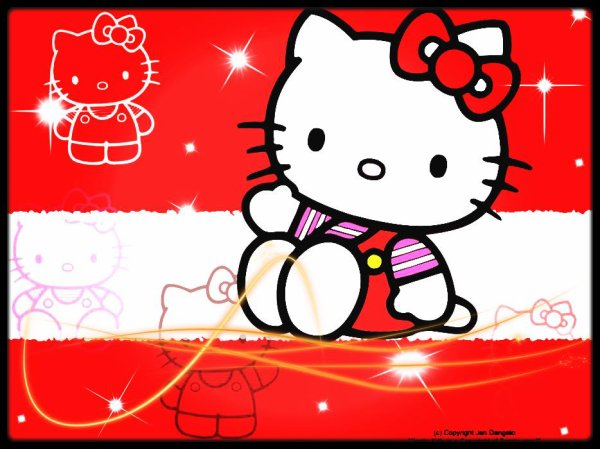 Image retouche Hello Kitty