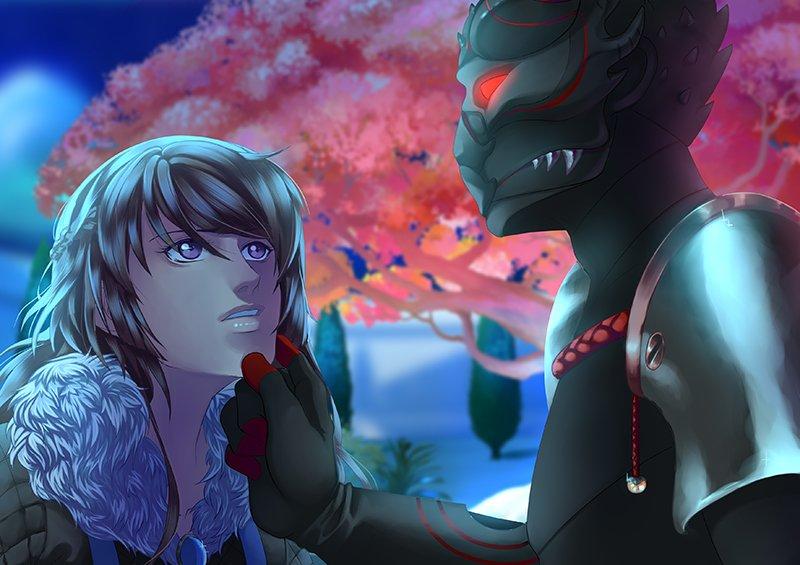 Image Eldarya Erika et l'homme masqué