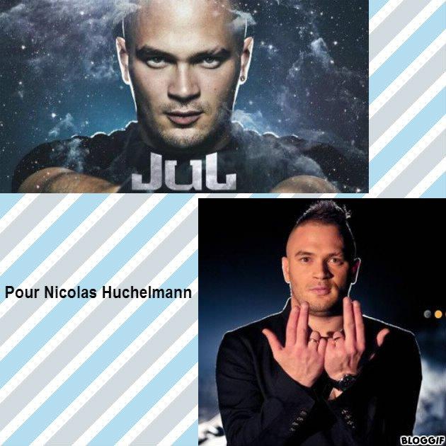 Montage Jul créé par moi pour Nicolas Huchelmann