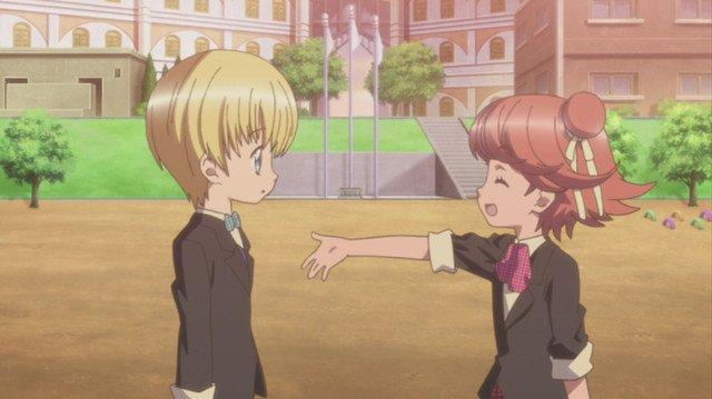Image Shugo Chara Hikaru et Rikka