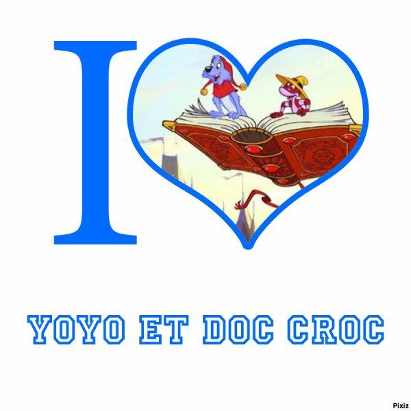 Montage Simsala Grimm Yoyo et Doc Croc créé par moi