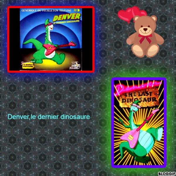 Montage Bloggif Denver,le dernier dinosaure créé par moi