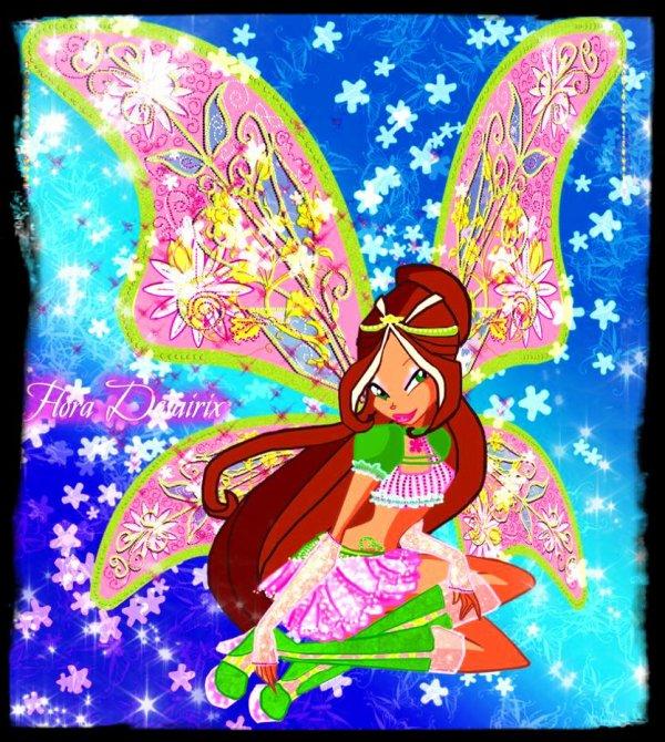 Image retouche Winx Club Flora en Desairix