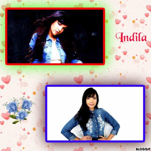 """Paroles de """"Mini World"""" + montage Bloggif Indila créé par moi"""