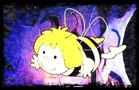 Image retouche Maya l'abeille